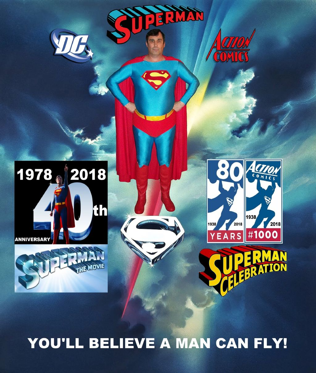 Superman 80th Birthday/Superman the movie 40th anniversary