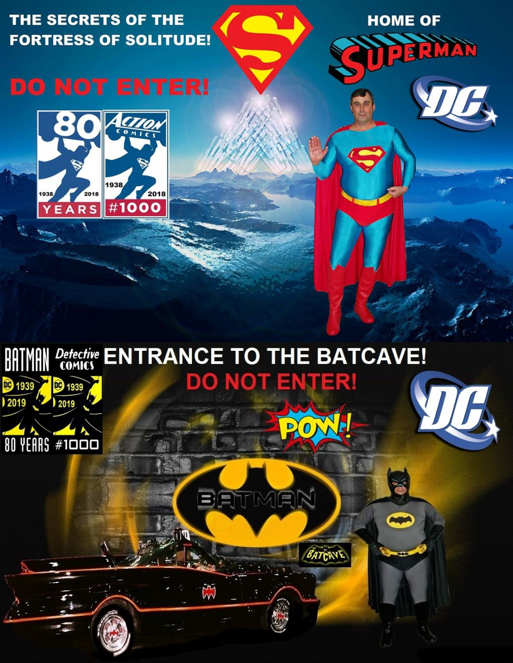 \u0022SUPERMAN & BATMAN 80TH BIRTHDAY 2018 & 2019\u0022